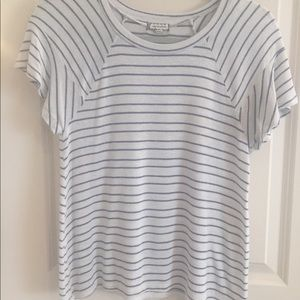 Soft striped l T-shirt sweater by Eyeshadow